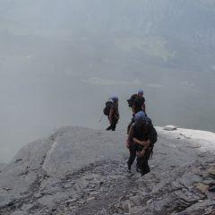 Guided glacier trek Swiss Alps Aletsch Eiger Valais