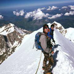 De Bossesgraat op de Mont Blanc