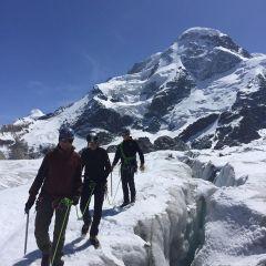 Gletsjer gletserspleet